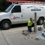 Installing duct work