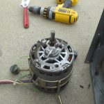 Cleaning blower motor for furnace