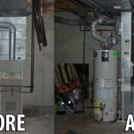 Furnace Install Before & After
